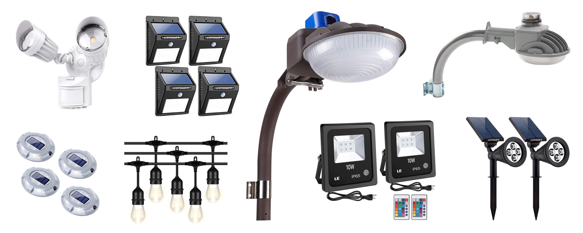 🥇12 Best LED Yard Lights - Outdoor Landscape Garden Lighting