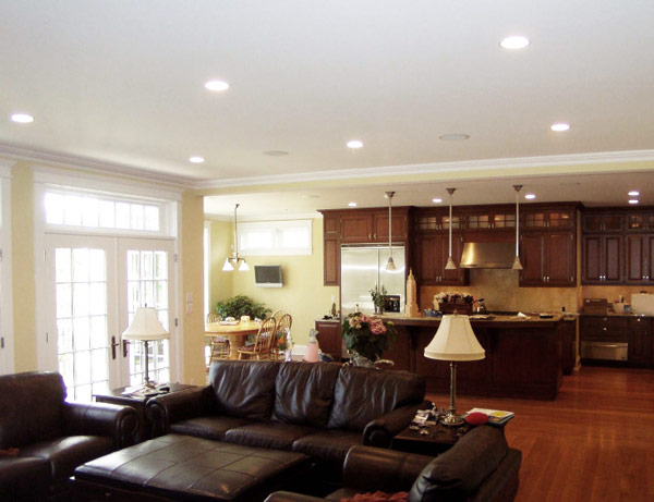 6 Lications Of Recessed Downlights