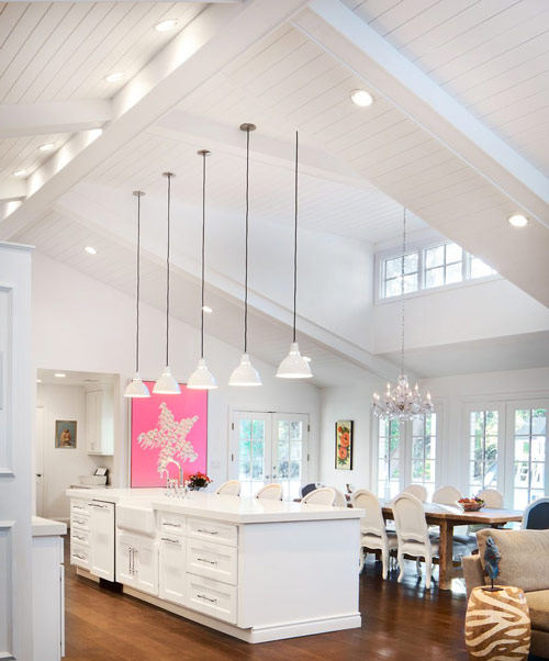 A Guide Of Vaulted Ceiling Recessed Lighting Placement Recessedlightspro